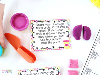 Hands-on Fractions (Playdough Fractions)
