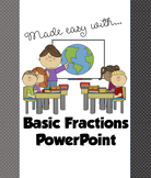 Year Four: Basic Fractions PowerPoint Presentation