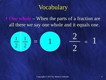 Common Core 3rd - Fractions 3 - Equivalent Fractions