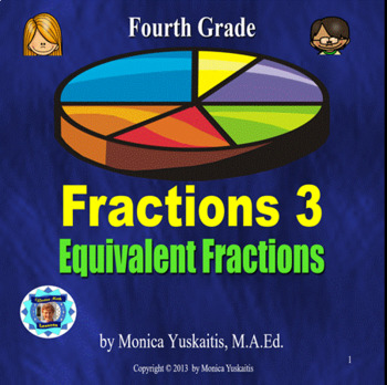 Common Core 4th - Fractions 3 - Equivalent Fractions