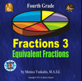4th Grade Fractions 3 - Equivalent Fractions Powerpoint Lesson