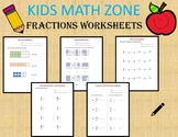 Fractions (36 Worksheets) Equivalent Fractions, Mixed Numb