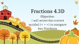 Fractions 4.3D- comparing fractions