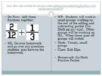 Fractions - 5th Grade