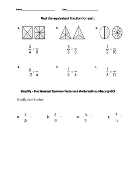 Fractions 5th Grade Common Core