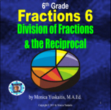 6th Grade Fractions 6 - Division of Fractions & the Reciprocal Powerpoint Lesson