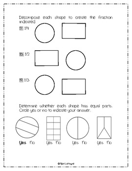 Fractions: A Common Core Assessment