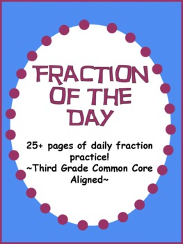 Fractions:  A Daily Review!