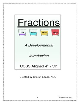 Developmental Introduction to Fractions