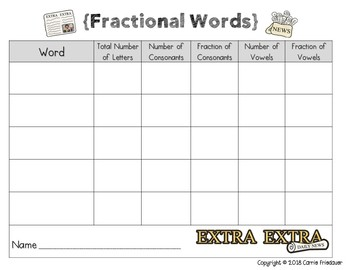 Fractions: A Packet of *Fun* Activities (halves, thirds, fourths)