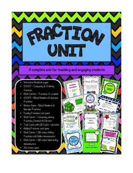 Fractions - A complete teaching unit
