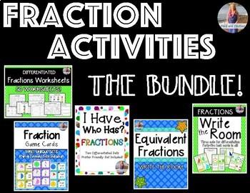 Fractions Activities BUNDLE!
