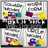 Fractions Activities Games, Fractions of a Whole, Make it Stick