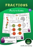 Fractions Activities - Pizza Cafe #1