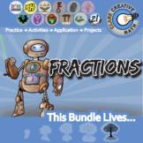 Fractions -- Activities & Projects -- Unit Bundle