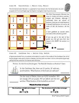 Fractions -- Activities & Projects -- Essential Unit Bundle