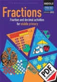Fractions – Activities for middle primary – Ages 8–10 ebook