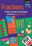Fractions – Activities for upper primary – Ages 11+ ebook