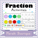 Fractions Activity Bundle + Lesson Ideas for Whole Class a
