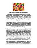 Fractions Activity: Fun with Fractions and Jellybeans!