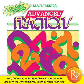 Fractions: Add, Subtract, Multiply, & Divide