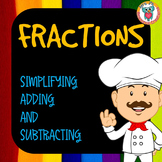 Fractions Unit - guided lessons + worksheets