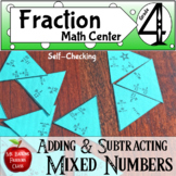Fractions Adding and Subtracting Mixed Numbers with Like Denominators