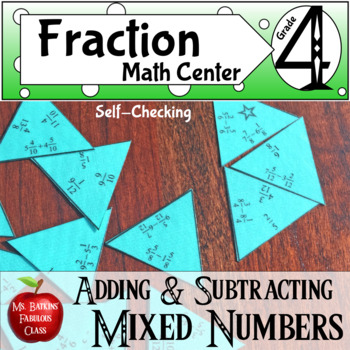 Fractions Adding and Subtracting Mixed Numbers with Like D