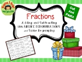 Fractions:  Adding and Subtracting with Unlike Denominators