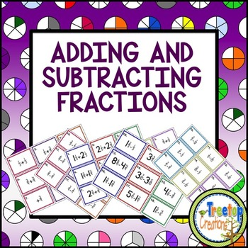 Adding and Subtracting Fractions with Like and Unlike Denominators