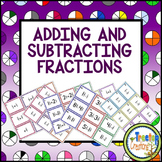 Adding and Subtracting Fractions with Like and Unlike Deno
