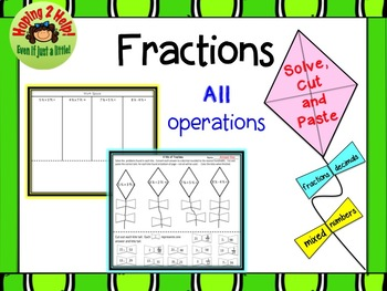 Fractions - All operations