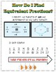 Fractions Anchor Charts (Equivalent and +/-)  CCSS: 4.NF.A.2 & 5.NF.A.1