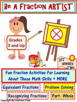 Fractions Are Fun: A Creative Way to Learn About Fractions- Set Two