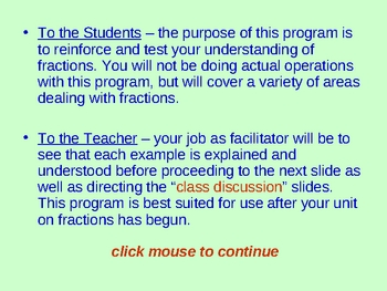 Fractions Are Fun / Understanding Fractions and Their Properties