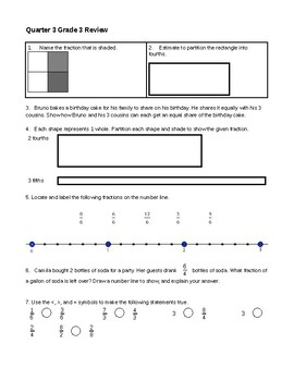Fractions/Area Model Review