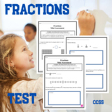 Fractions Assessment 4.NF.5, 6, and 7
