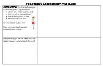 Fractions Assessment Task: The Race