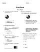 Fractions Assessment Unit (for use with Magic of Math 3rd Grade)