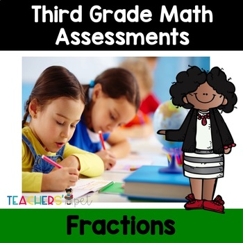 Fractions Assessments: Naming, Comparing and Adding