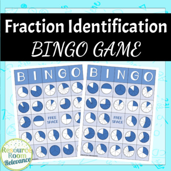Fraction Identification BINGO