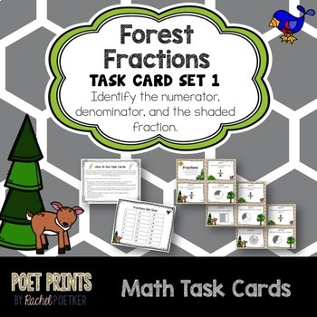 Writing and Drawing Fractions BUNDLE