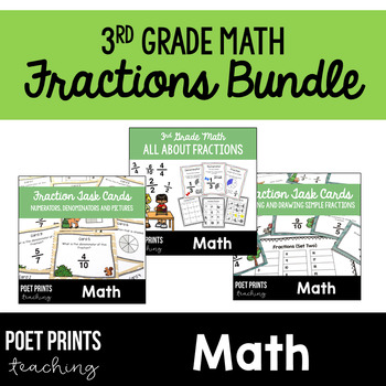Writing and Drawing Fractions, BUNDLE