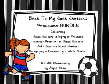 Fractions BUNDLE Back To My Seat Stations