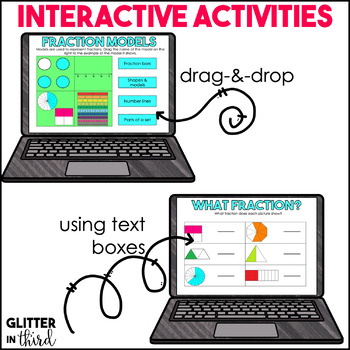 Fractions BUNDLE for Google Drive & Google Classroom