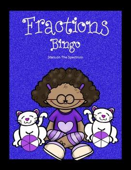 Fraction Game Bingo