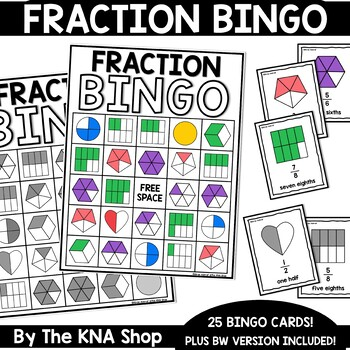 Fractions Bingo | End of the Year