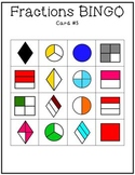 Fractions Bingo Game Set