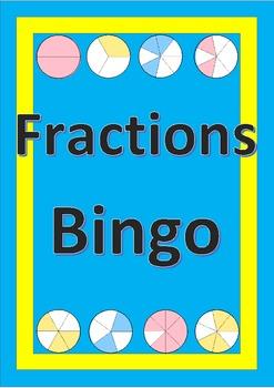Fractions Bingo - Maths Game