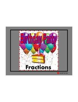 Fractions Birthday Party for Autism